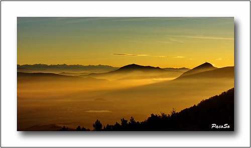 naturaleza nature sunrise natura navarra pirineo pacoso higademonreal peñaizaga salidadesol cuencadepamplona