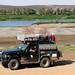 Cesta úrodným údolím Nilu v severním Súdánu, foto: Andrea Kaucká