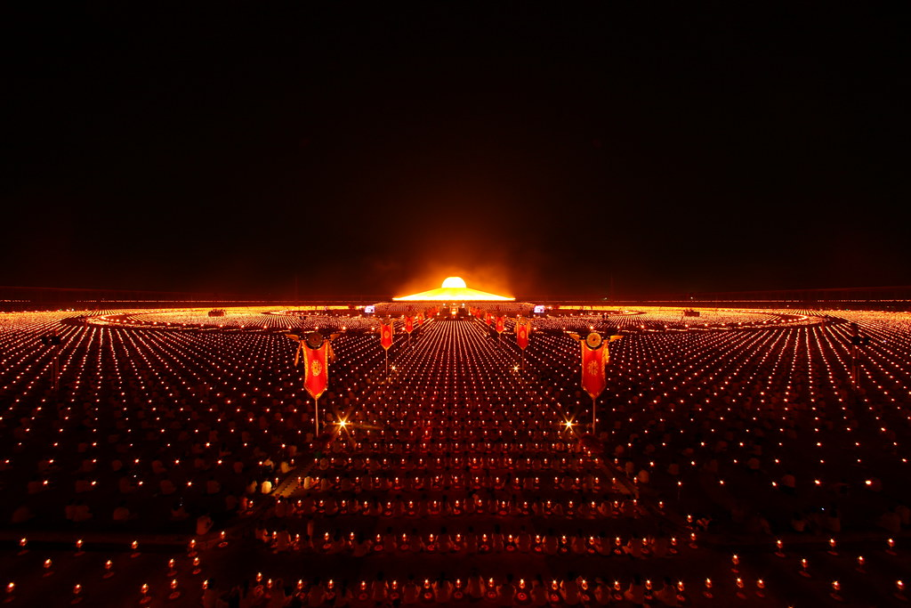 Magha Puja (Buddhist All Saints' Day) | Māgha Pūjā day marks… | Flickr