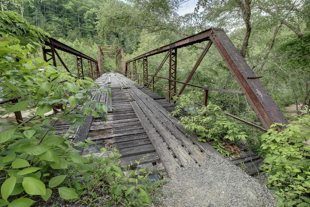 Burnt Mill Bridge, Big South Fork NRRA, Scott County, Tennessee