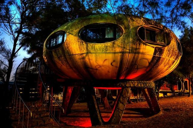 Taiwan UFO village