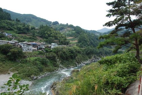 river trainstation shikoku gorge 四国 iyavalley yoshinogawa 吉野川 oboke 大歩危 祖谷渓谷