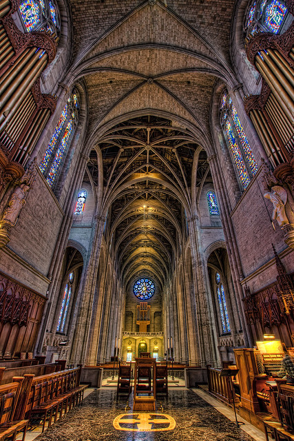 Grace Cathedral in San Francisco - HDR