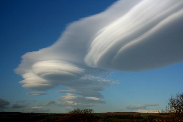 Yorkshire lenticular clouds 1