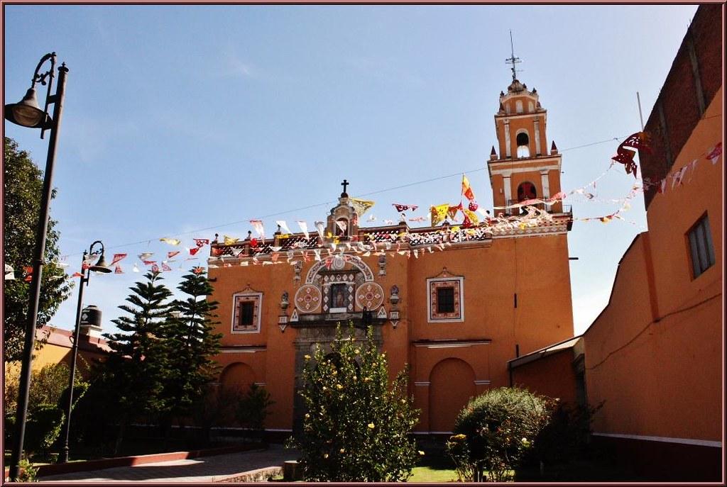 Fachada del Templo de San Miguelito