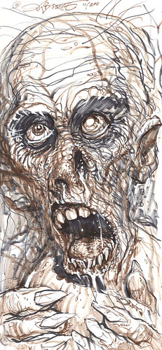 """ZOMBIE"" (( 2011 )) [[ The art of S.R. Bissette ]] by tOkKa"