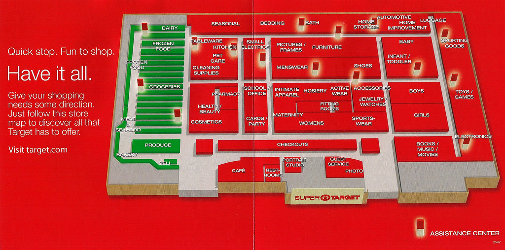 Target Store Map 2011 Target store map   interior | Filmscore | Flickr