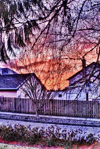sunrise hdr