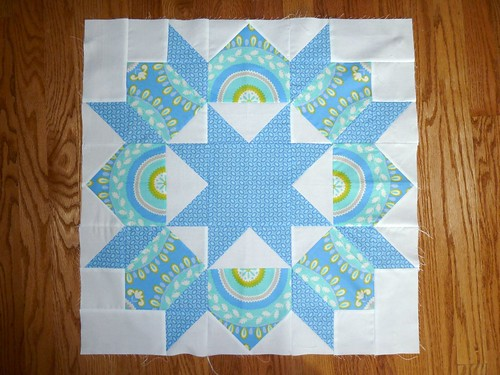 First Swoon block