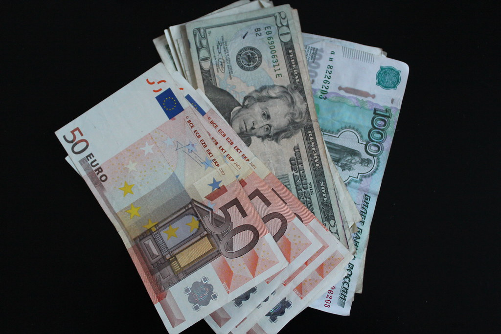 Euro, dollars, rubles