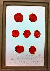Darwin's correspondence seals