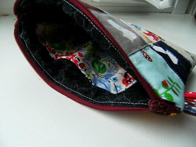 Patchwork Zipper Pouch 2