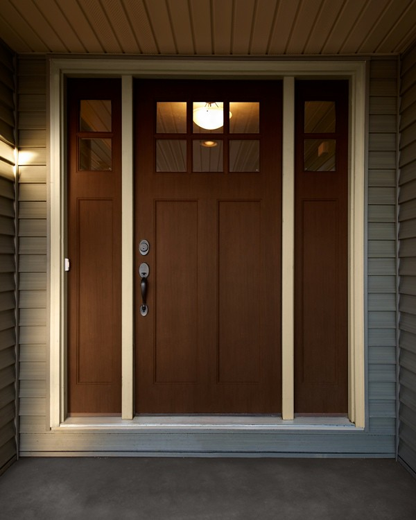 save off 09431 3ebad Craftsman Style Front Door | McAllister | Wayne Homes | Flickr