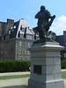 St. Malo – socha Cartiera, foto: Petr Nejedlý