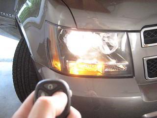 2014 GM Chevrolet Tahoe SUV - Testing Key Fob After Changi