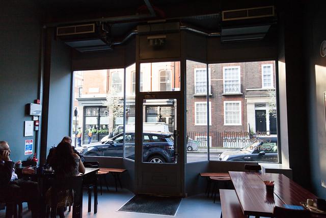 Interior of Nordic Bakery (Marylebone location)