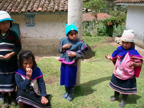 Guambiano Indians in Silvia, Cauca   by The Colombian Way