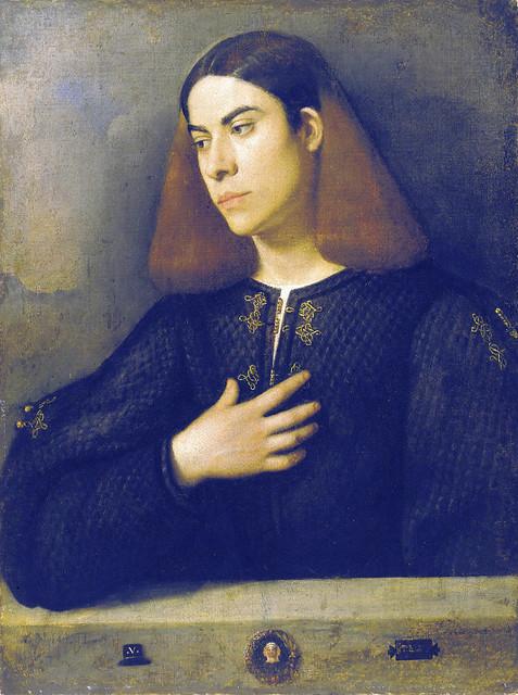 Giorgione - Portrait of a young man (1510)