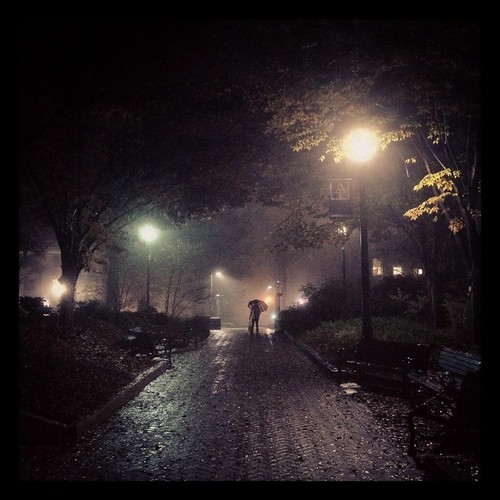 Rainy Night at AU