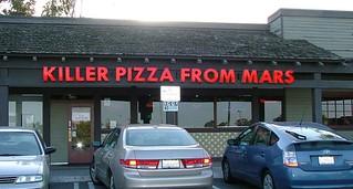 Killer Pizza From Mars