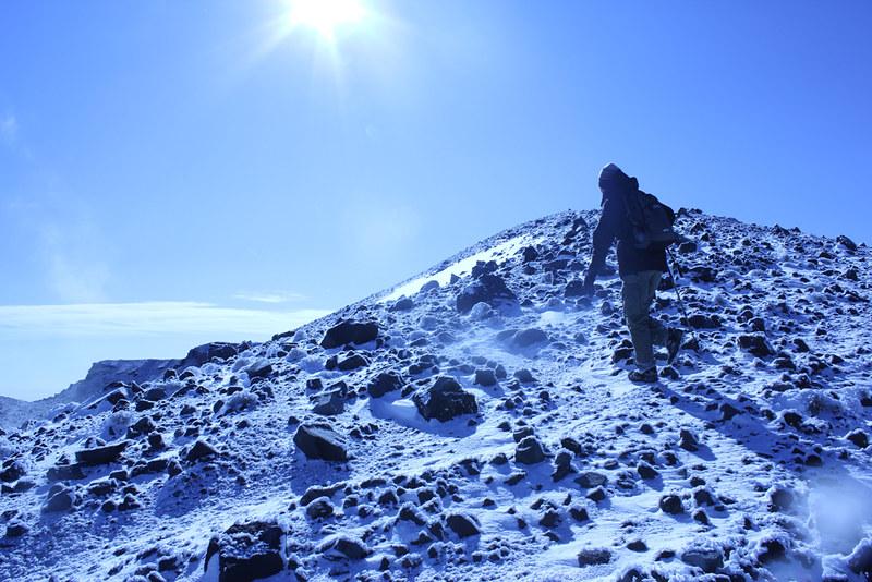 浅間山山頂アタック