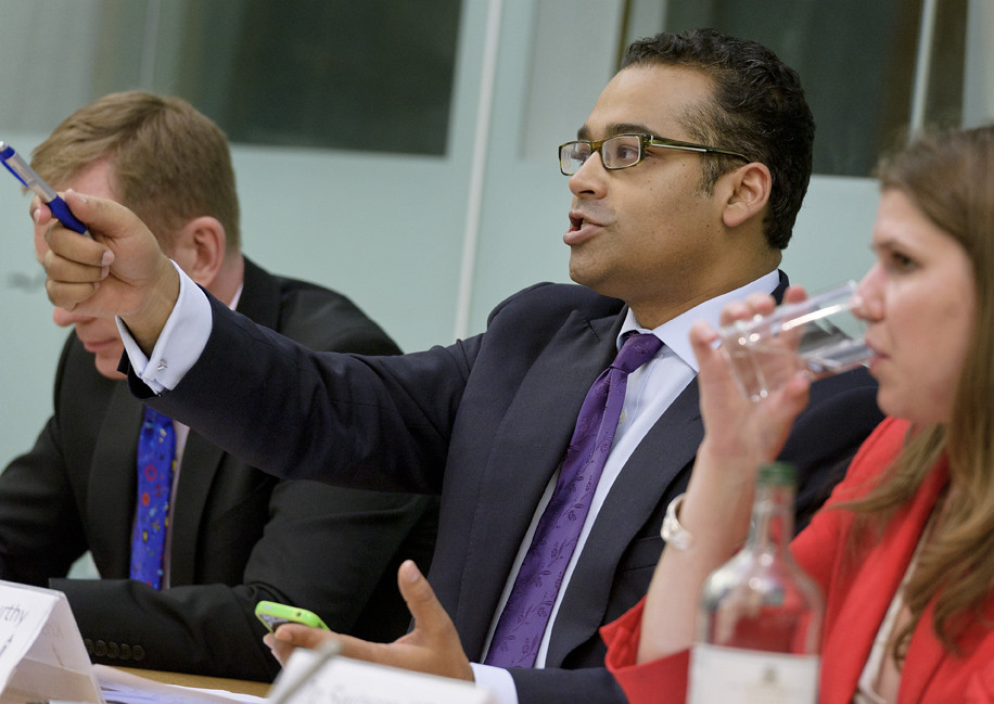 Chair, Krishnan Guru-Murthy, takes another question from t