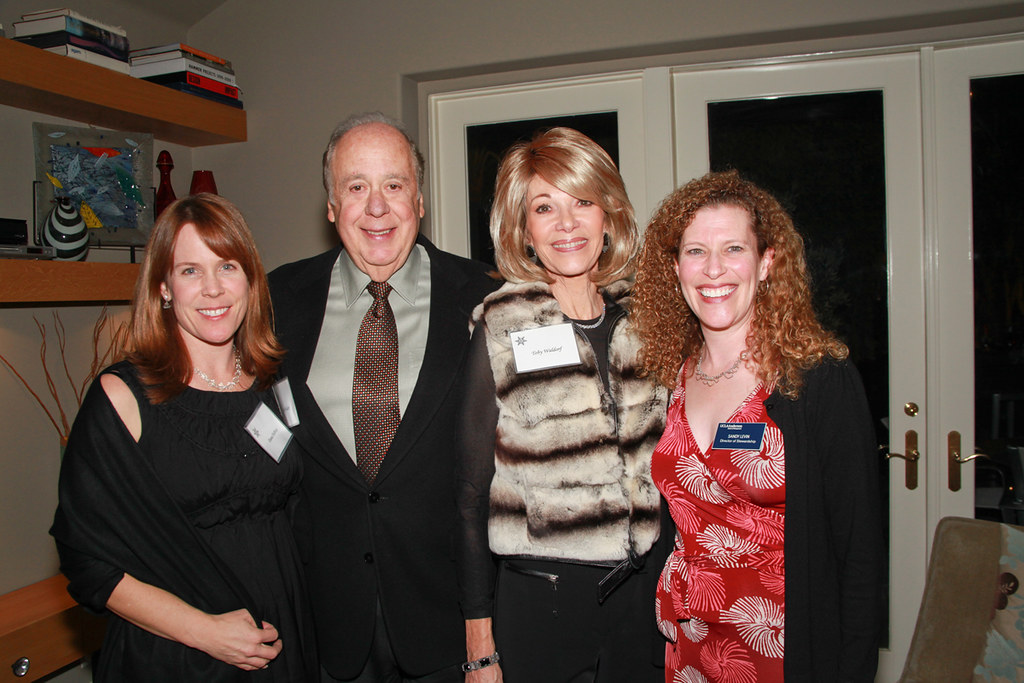 Dana DuBose, Bob & Toby Waldorf, Sandy Levin | UCLA Anderson