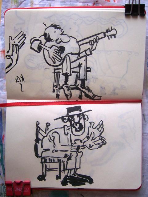 TABLAO II - Guitarra y cantaor.