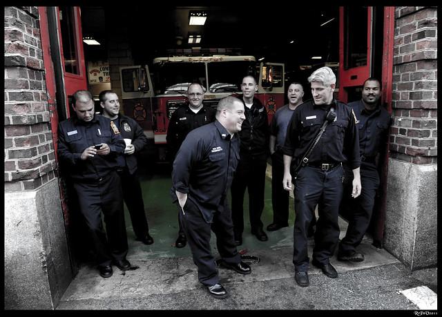 Occupy DC Firemen