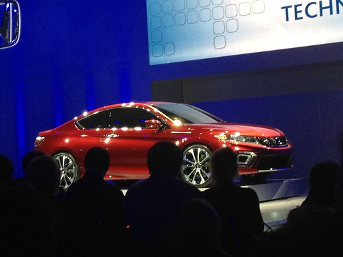 2013 Honda Accord Coupe Concept - Live from the 2012 Detroit Auto Show -  Jan 10, 9 38 18 AM Photo