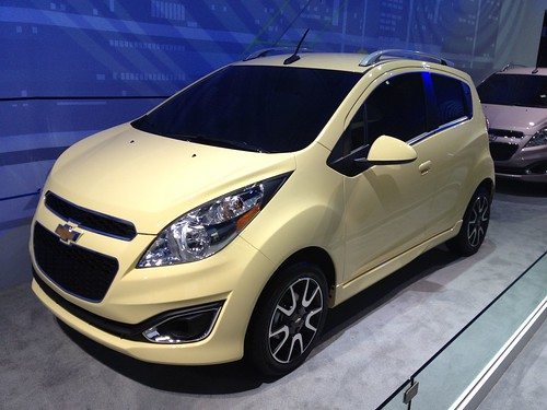 2013 Chevrolet Spark - Live from the 2012 Detroit Auto Show -  Jan 10, 1:14:43 PM Photo