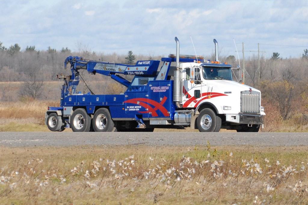 Tow Truck Ottawa >> Ottawa Metro Towing Kenworth T 800 Tow Truck Ottawa Ontar Flickr