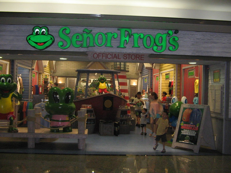 Tienda Señor Frogs