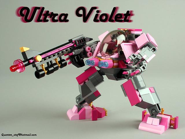 6812390569 4dbce7d539 z Ultra Violet   lego mech