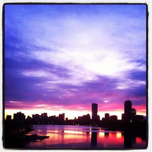 Boston sunrise | by Thomas Roessler