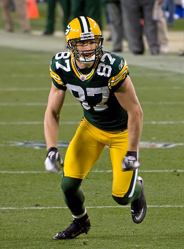 Jordy Nelson | by Mike Morbeck