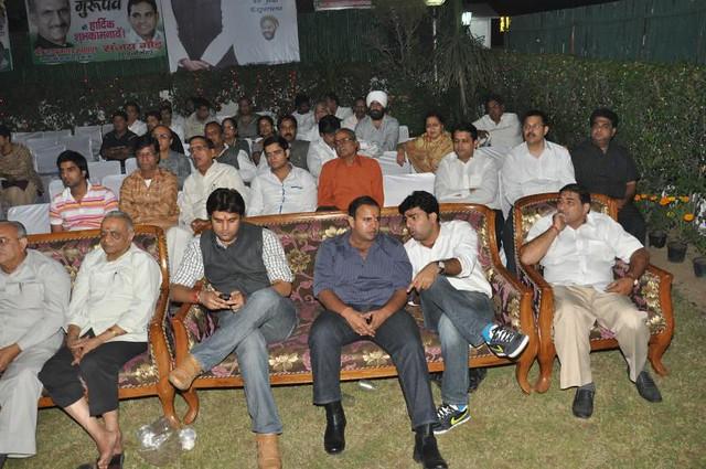 KATHA Sunder Kand by AJAY YAGNIK J P Agarwal Member Parliament President DPCC New Delhi India