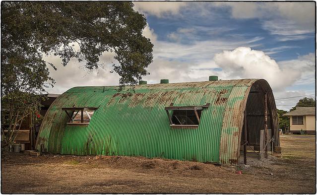 Green Quonset Hut, Waimanalo