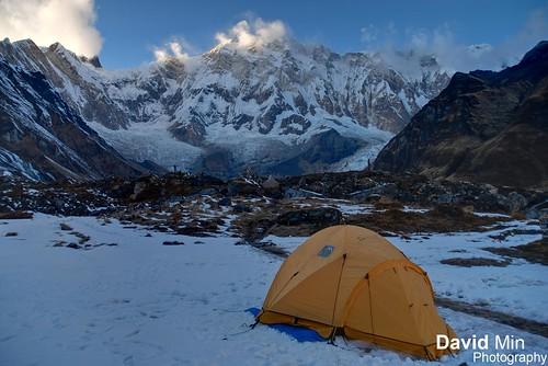Annapurna Base Camp, Nepal - Frozen Morning