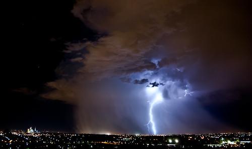 city storm rain clouds lights nikon hill australia perth western electricity lightning d80 reabold cloudsstormssunsetssunrises