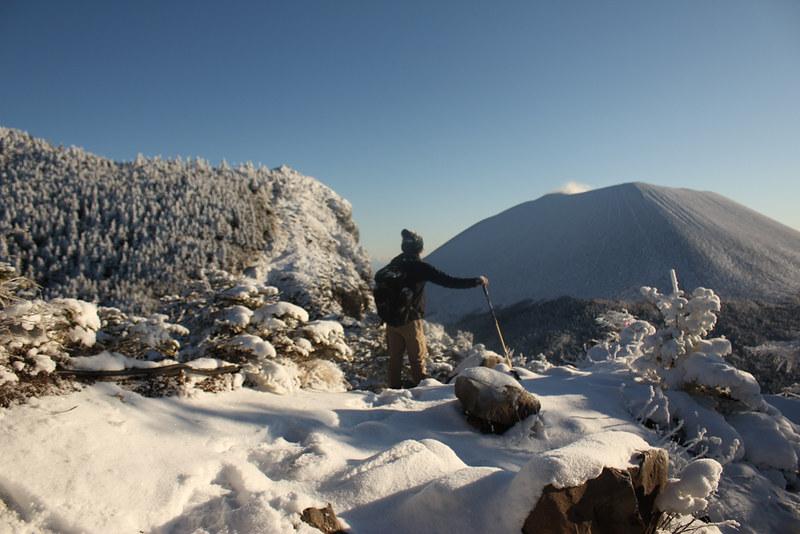 浅間山登山