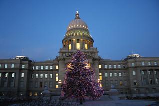 Boise Metro Chamber - Photo to Share - Idaho Capitol Christmas 4   by Boise Metro Chamber