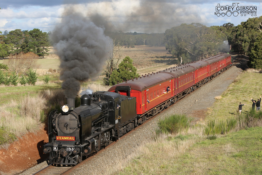 K153 passes the former Navigators Station site with a return shuttle to Ballarat. by Corey Gibson