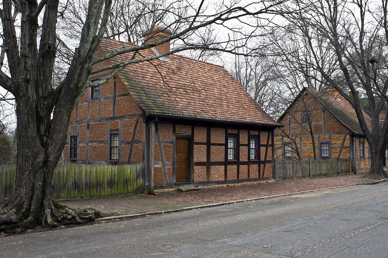 'period' Homes at Old Salem