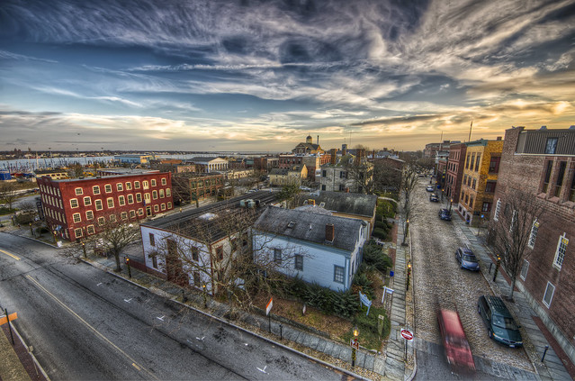 The Sun Sets on New Bedford