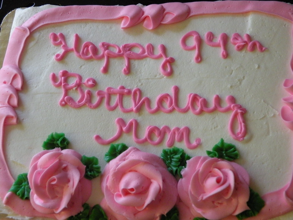 Happy 94th Birthday Cake