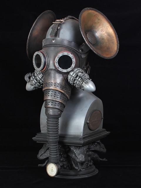 Olifant Steampunk Gas Mask