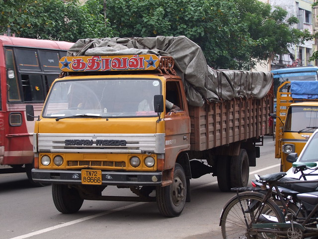 Swaraj Mazda ridelles