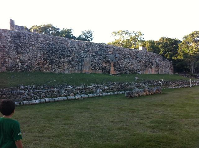Entrada a la Zona Arqueológica de Uxmal