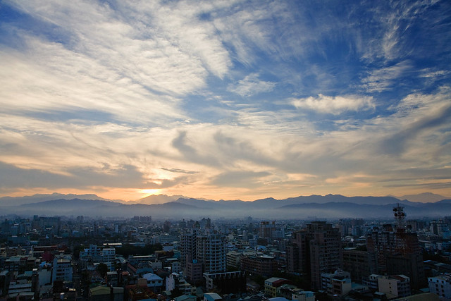 Taichung city dawn
